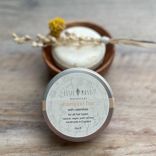 Solid Shampoo Bar with Calendula