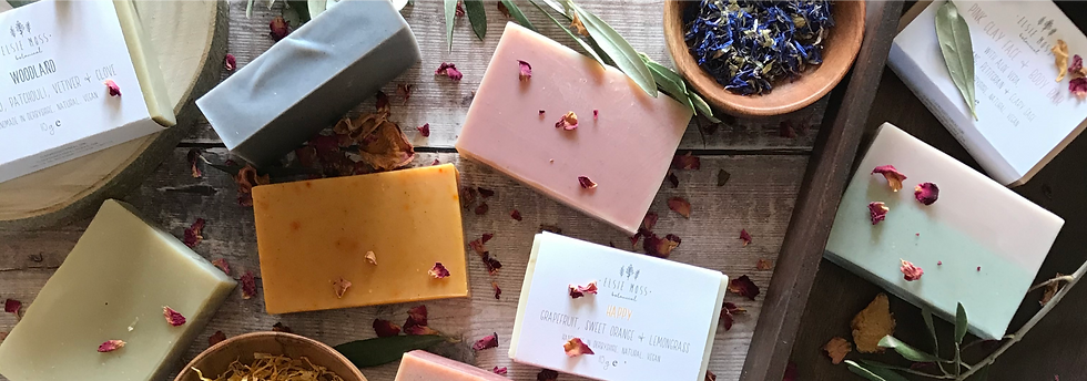 natural, vegan, handmade soap
