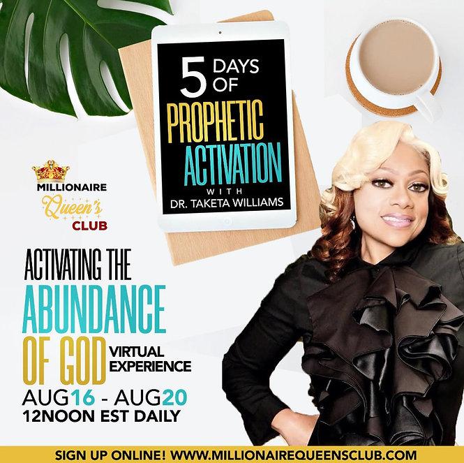 Activating The Abundance of God, August.JPG