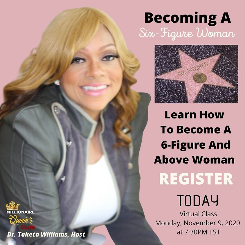 The 6-Figure Woman Wealth Empowerment Class