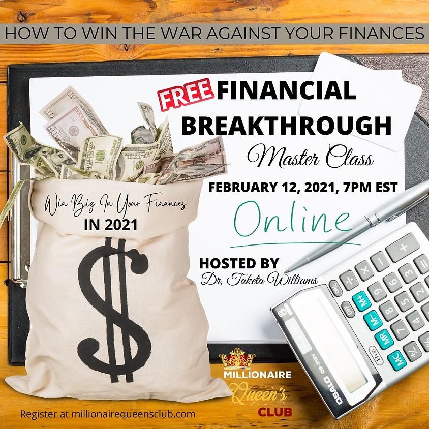 Financial Breakthrough Master Class