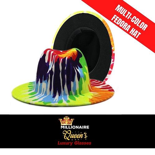 Mult-Color Fantastic Fedora Hat