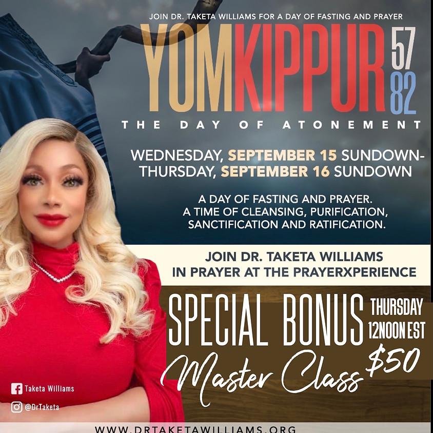 Yom Kippur Master Class