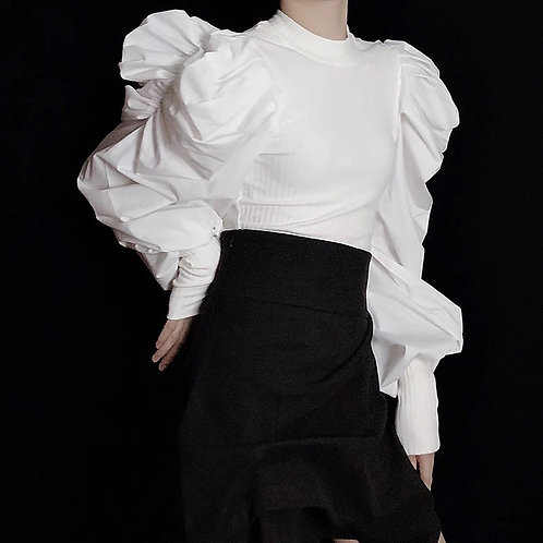 Ms. Fabulous Puff Sleeve Blouse