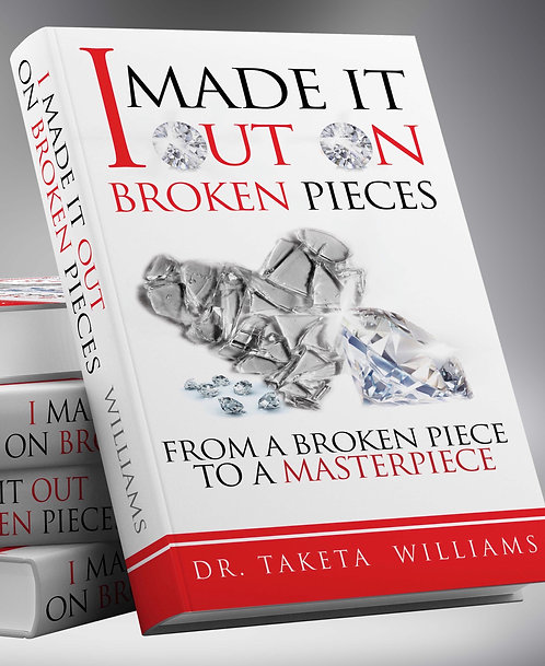 From A Broken Piece To A Masterpiece Book
