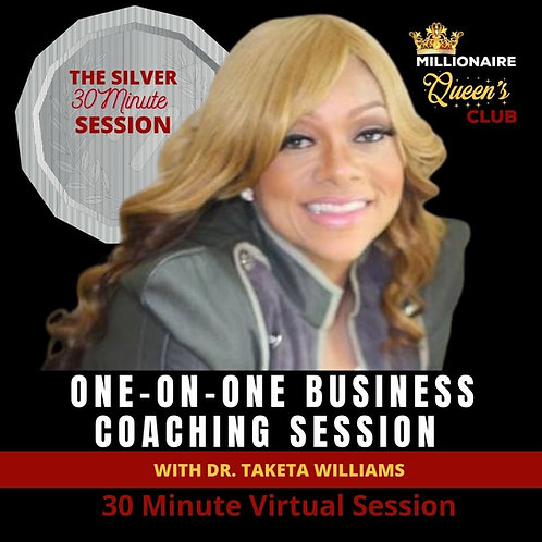 One-On-One Coaching, 30 Minute Session