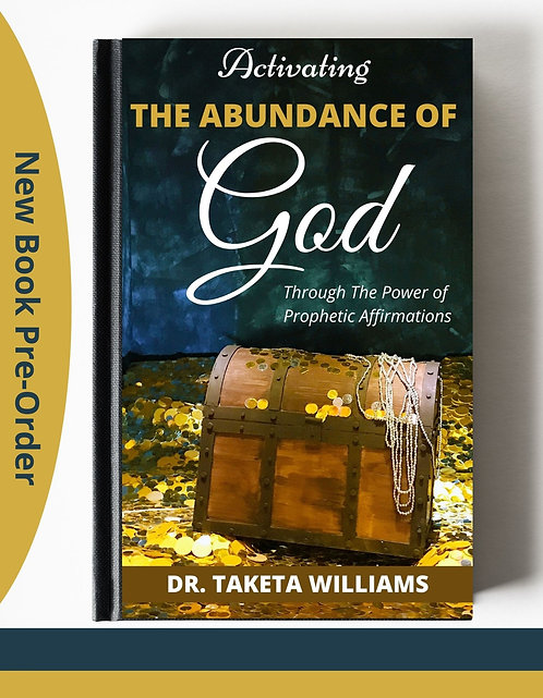 Activating The Abundance Of God Book