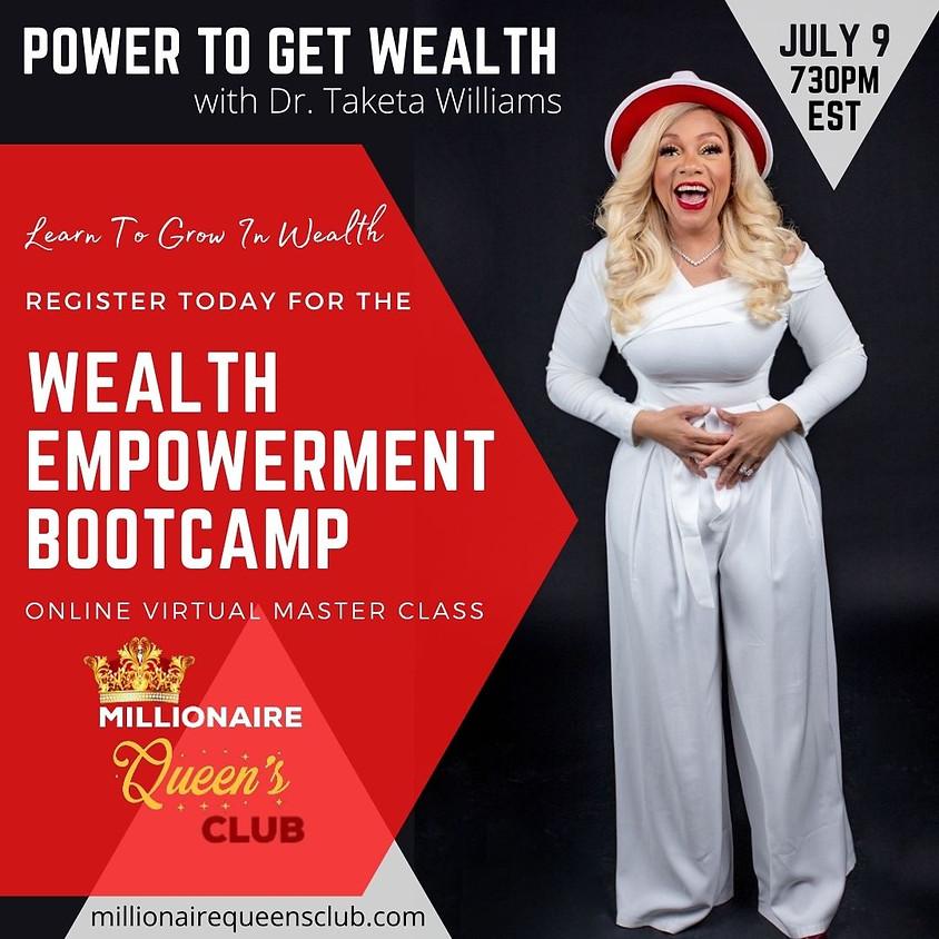 Wealth Empowerment Bootcamp
