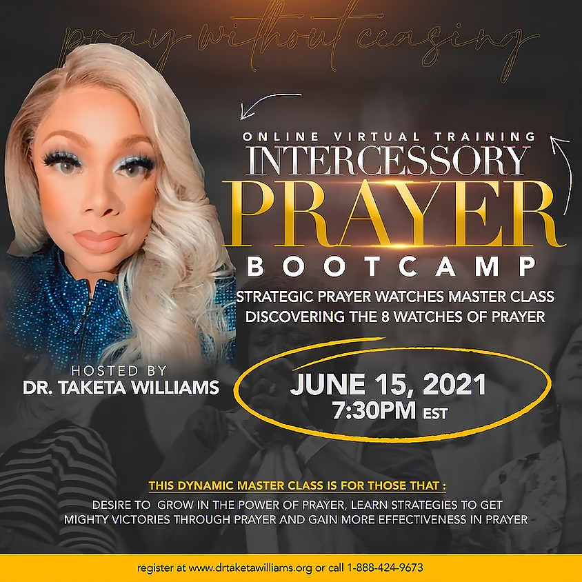 Intercessory Prayer Bootcamp, The 8 Watches of Prayer Master Class