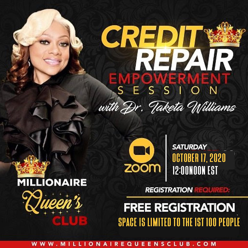 Free Credit Empowerment Class