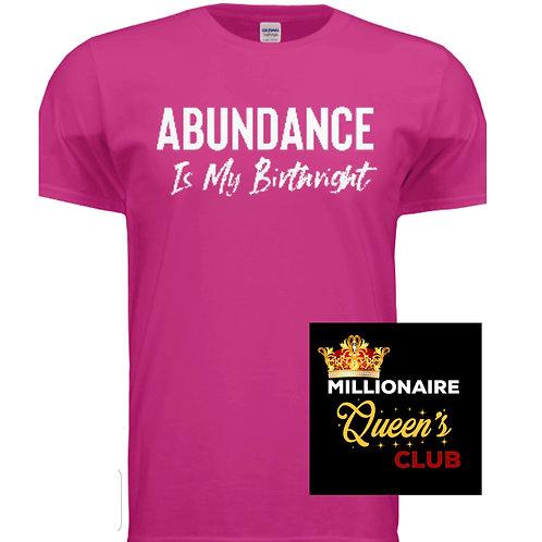 Abundance Tee