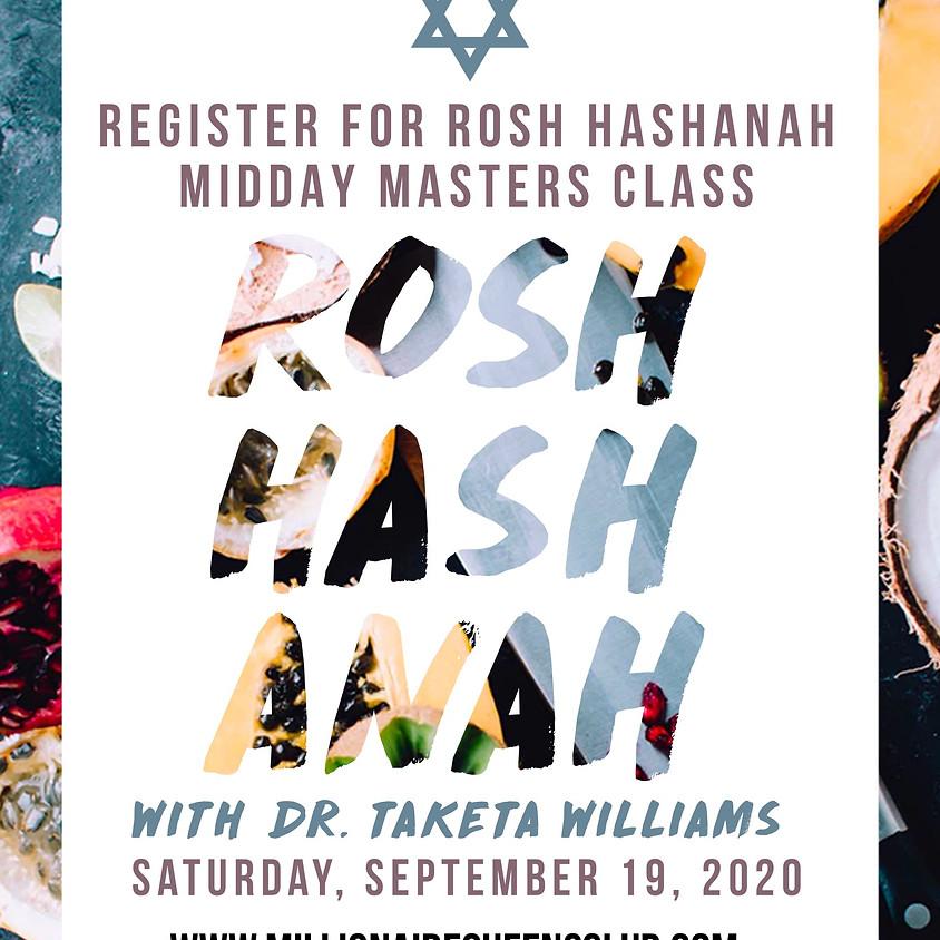 Rosh Hashanah Master's Class, Prophetic Teaching