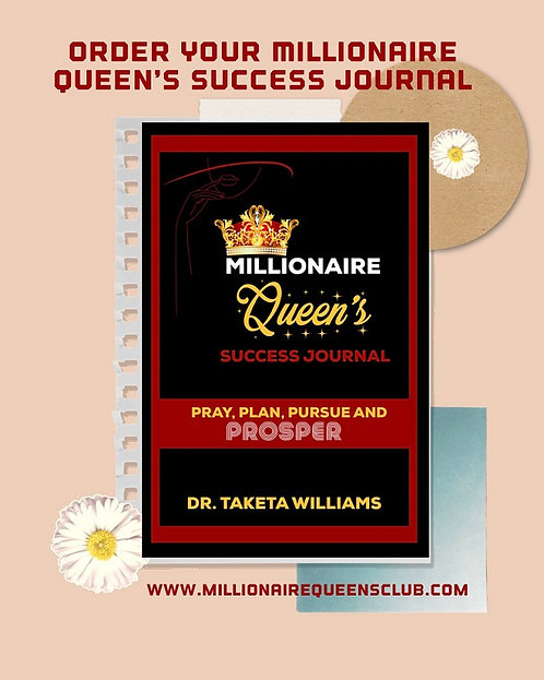 MIllionaire Queen's Success Journal