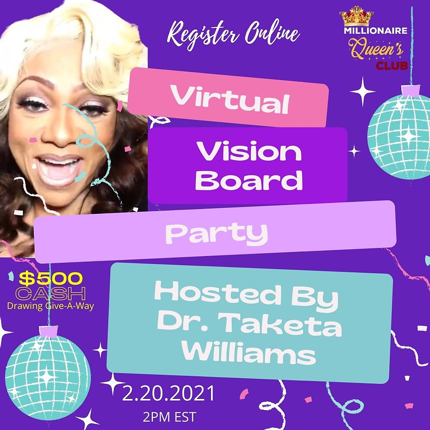 2021 Virtual Vision Board Party