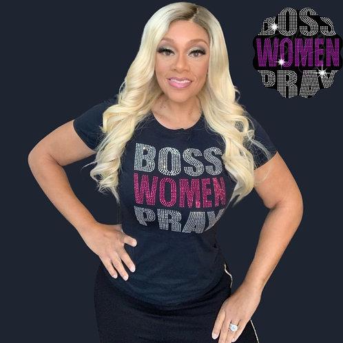 Boss Women Pray Shirt