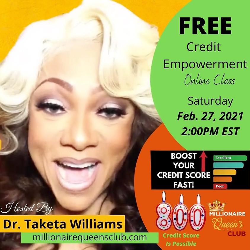Credit Empowerment Virtual Class