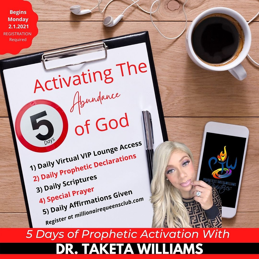 Activating The Abundance of God