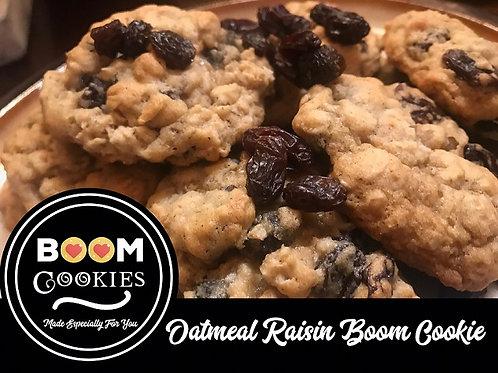 Oatmeal Raisin Boom, One Dozen Cookies
