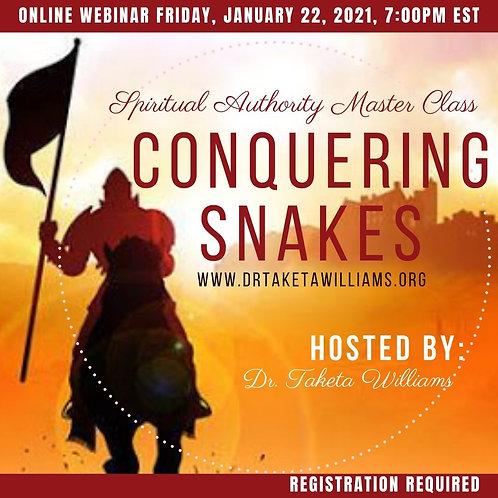 Spiritual Authority Master Class