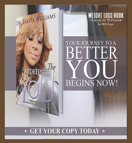 The Redefined You, Weight Loss Book