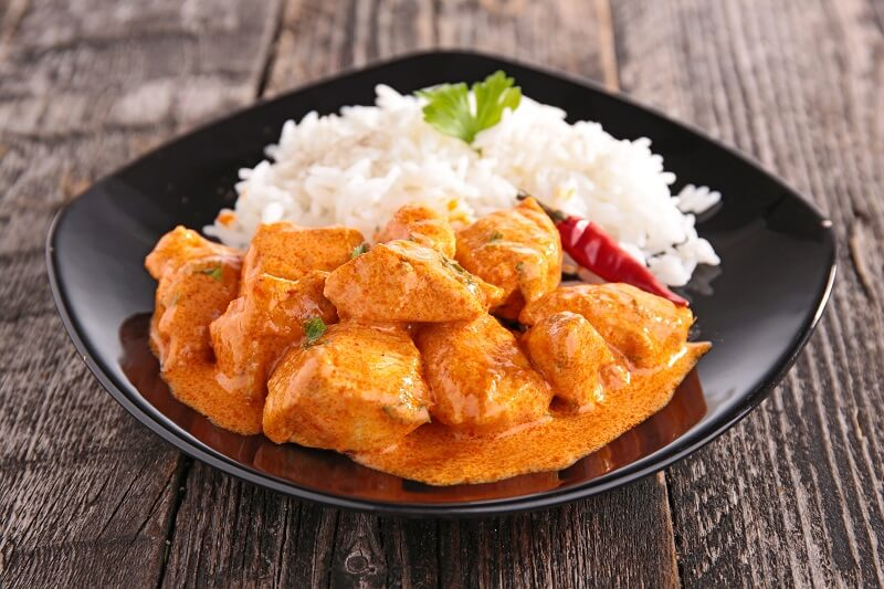 Nutrition plan - Chicken And Curry