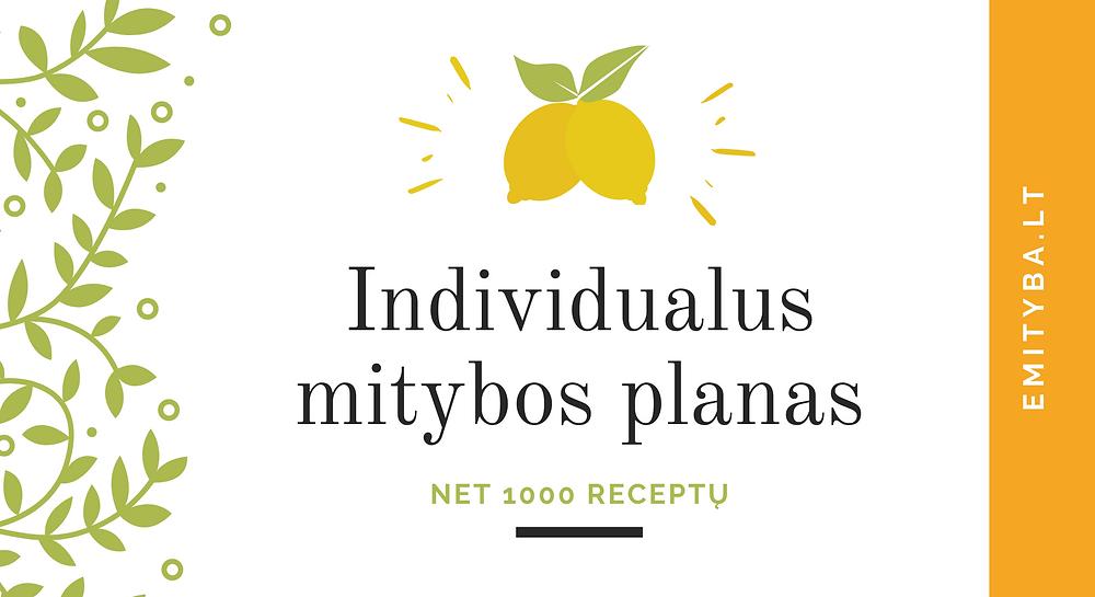 Individualus mitybos planas
