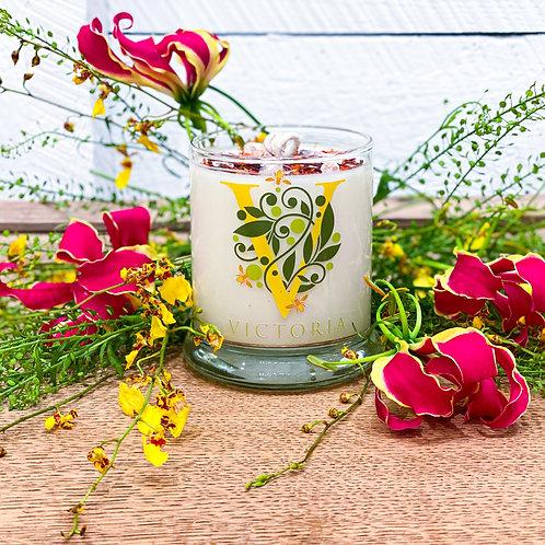 Plumeria Soy Wax Candle