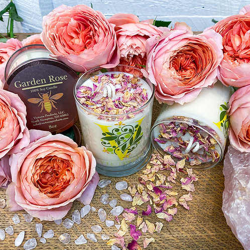 Garden Rose Soy Wax Candle