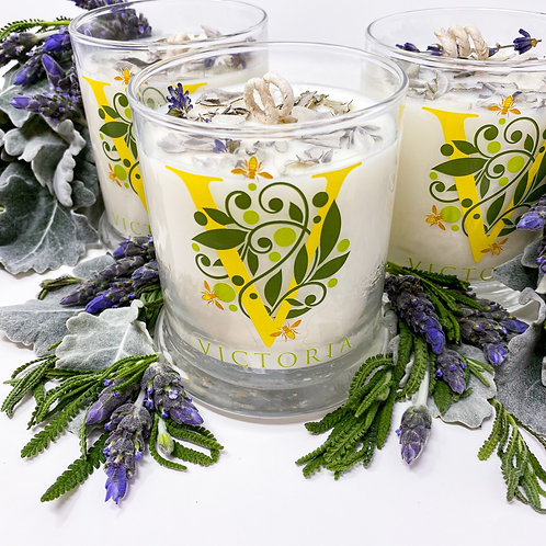 White Sage Lavender Soy Wax Candle