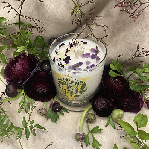 Cashmere Plum Soy Wax Candle