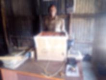 D Light solar lantern donation First Acc