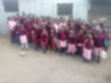 School uniforms and sweater donation by