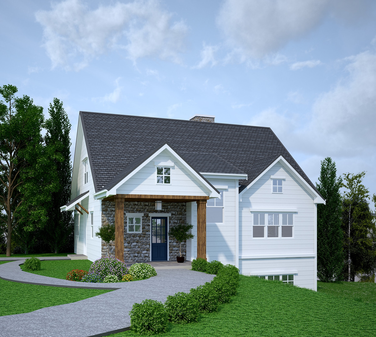 To Be Built Exterior