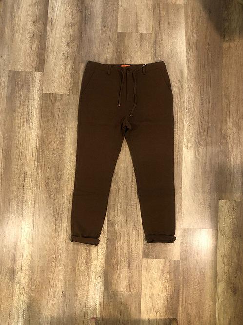Pantalone Tuta Elegante Distretto 12 Slim Fit Microfantasia