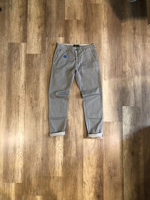 Pantalone Slim Fit Microfantasia Beige