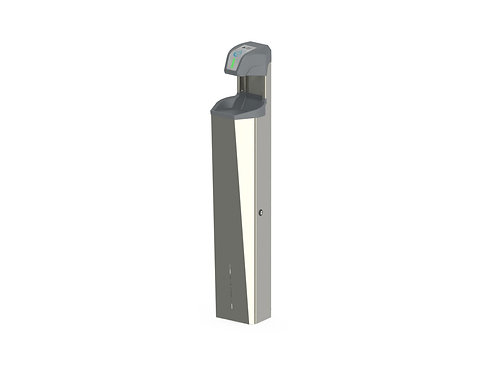 Hand Sanitizer Dispenser - Free Standing with Lockable Cabinet