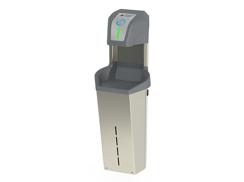 Hand Sanitizer Dispenser - Wall Mounted with Lockable Cabinet