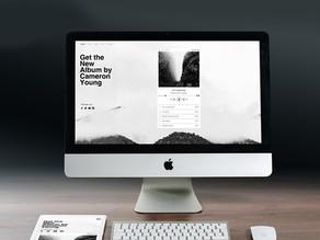 Os sites simples e elegantes
