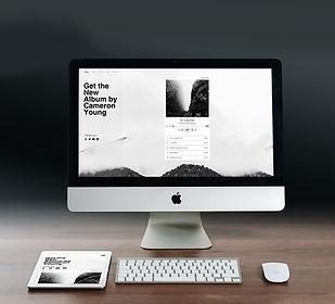 ホームページ制作のイメージ画像です。