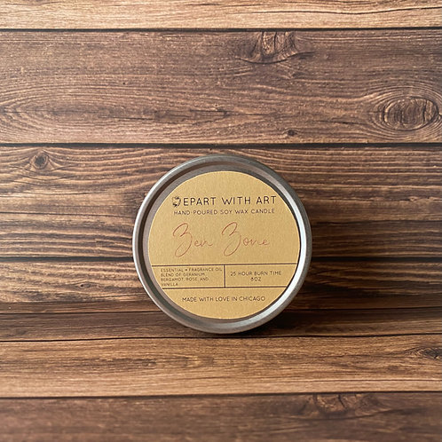 Zen Zone Soy Candle