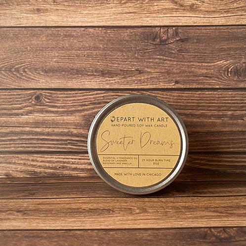 Sweeter Dreams Soy Candle