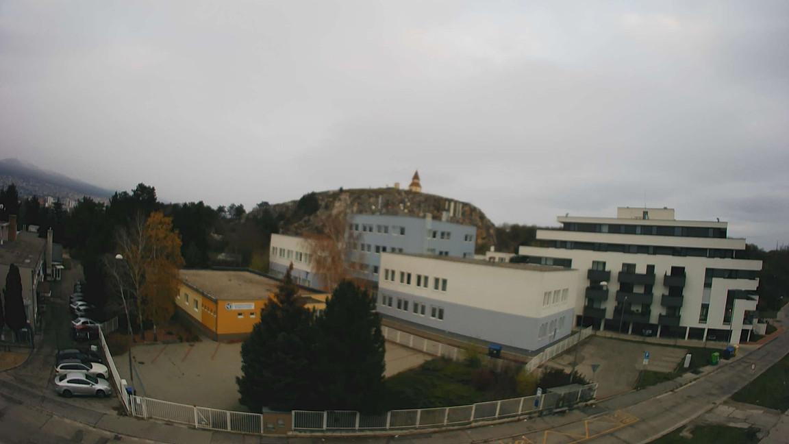 Rezidencia Kalvárka | Pohľad z JV okien smerom na Kalváriu