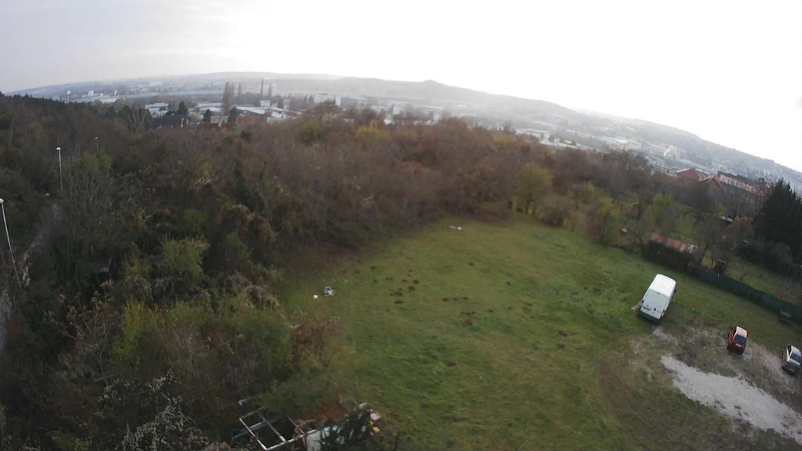 Rezidencia Kalvárka | Pohľad z JZ okien smerom na stabilizovanú zeleň