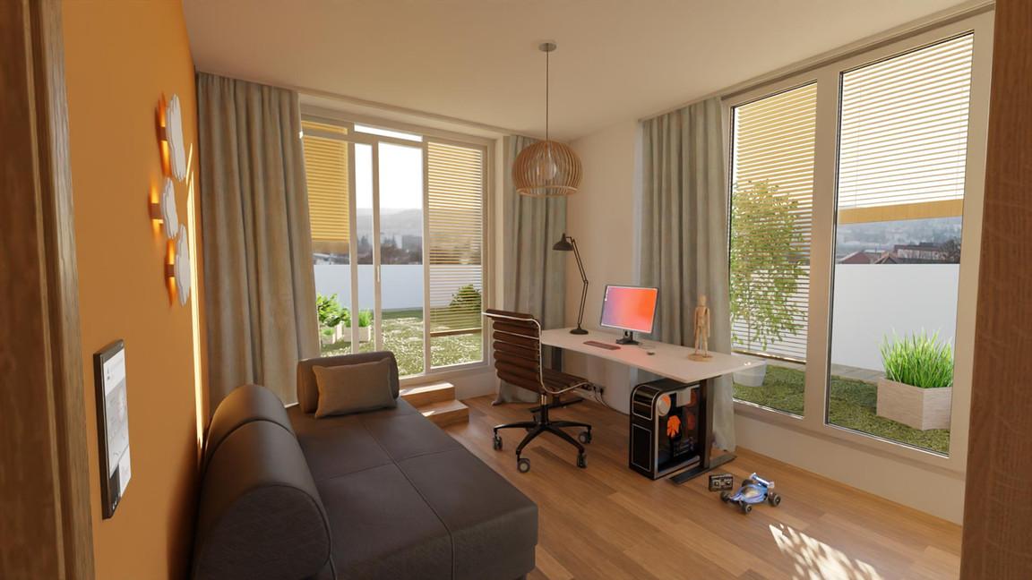 Rezidencia Kalvárka | Vizualizácia izba