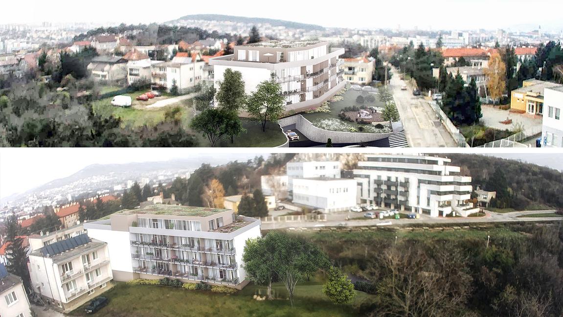 Rezidencia Kalvárka | Vizualizácia dron