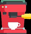 illustration machine à café