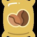 illustration sac de café