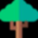 illustration arbre vert