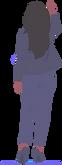 illustration femme en talon