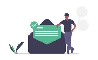 illustration mail